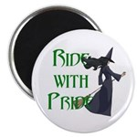 Ride with Pride Magnet