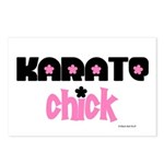 Karate Chick (Cotton Candy) Postcards (Package of