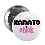 Karate Chick (Cotton Candy) Button