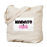 Karate Chick (Cotton Candy) Tote Bag