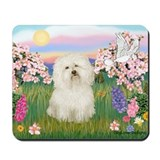 Bolognese/Blossoms Mousepad