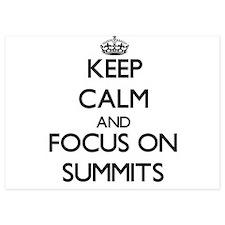 Keep Calm and focus on Summits Invitations