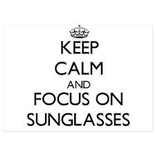 Keep Calm and focus on Sunglasses Invitations