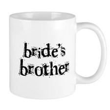 Bride's Brother Mug
