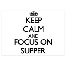 Keep Calm and focus on Supper Invitations