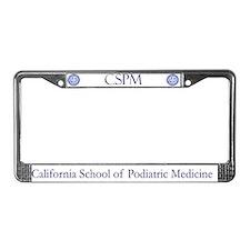 CSPM License Plate Frame