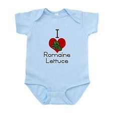 I love-heart romaine lettuce Body Suit