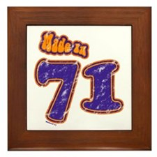 Made in 71 Framed Tile