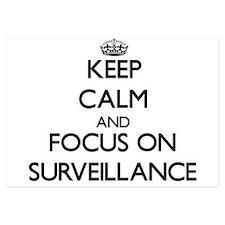 Keep Calm and focus on Surveillance Invitations