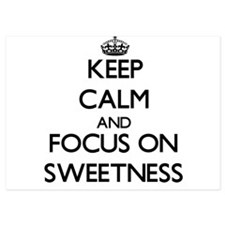 Keep Calm and focus on Sweetness Invitations