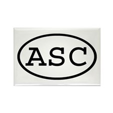 ASC Oval Rectangle Magnet