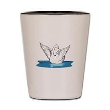 swan Shot Glass