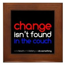 Change Isn't Found In The Couch Framed Tile