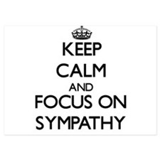 Keep Calm and focus on Sympathy Invitations