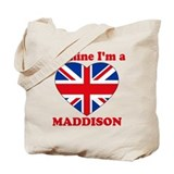 Maddison, Valentine's Day Tote Bag