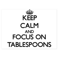Keep Calm and focus on Tablespoons Invitations