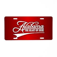 Alabama State of Mine Aluminum License Plate