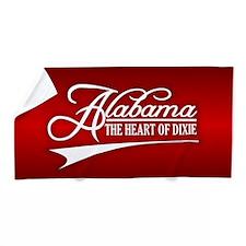 Alabama State of Mine Beach Towel