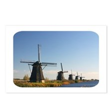 Windmills Postcards (Package of 8)