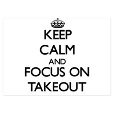 Keep Calm and focus on Takeout Invitations
