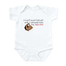 Baby Humor RedSox Hater Onesie