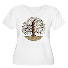 VLA Tree of Life Plus Size T-Shirt