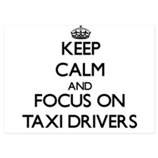 Keep Calm and focus on Taxi Drivers Invitations