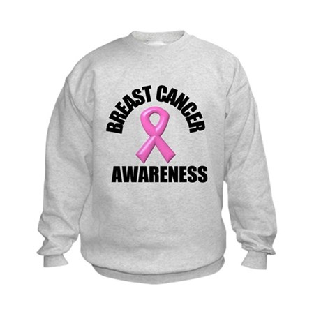 Breast Cancer Awareness Kids Sweatshirt