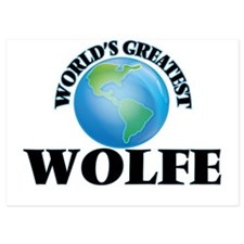 World's Greatest Wolfe Invitations