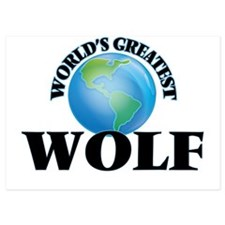 World's Greatest Wolf Invitations