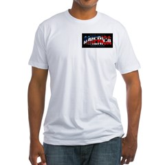 America-B Fitted T-Shirt