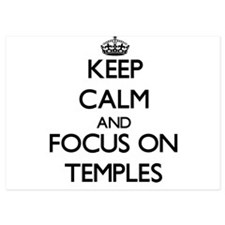 Keep Calm and focus on Temples Invitations