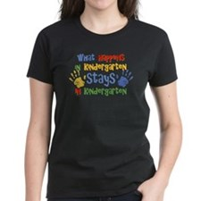Stays In Kindergarten Tee