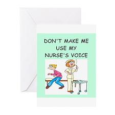 nurse Greeting Cards (Pk of 20)