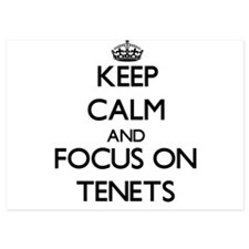 Keep Calm and focus on Tenets Invitations