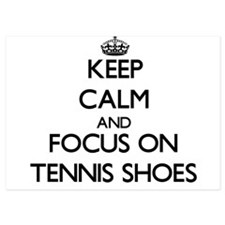 Keep Calm and focus on Tennis Shoes Invitations