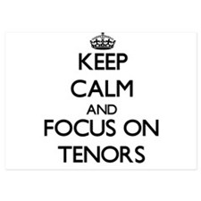 Keep Calm and focus on Tenors Invitations