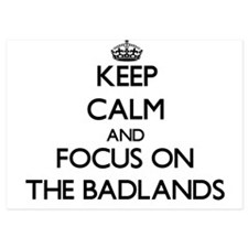 Keep Calm and focus on The Badlands Invitations