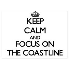 Keep Calm and focus on The Coastline Invitations