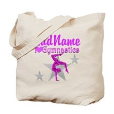 TWISTING GYMNAST Tote Bag