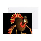 Big Tom Turkey Greeting Cards (Pk of 10)