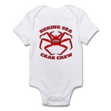 BERING SEA CRAB CREW Infant Bodysuit