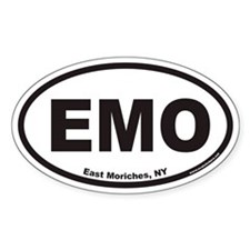East Moriches EMO Euro Oval Decal