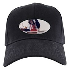 Coby the chimpanzee featured on Baseball Cap