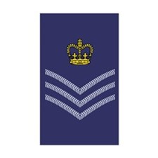 RAF Flight Sergeant<BR> Sticker 1