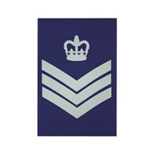 RAF Flight Sergeant<BR> Rectangle Magnet 2