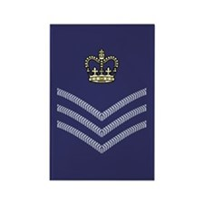 RAF Flight Sergeant<BR> Rectangle Magnet