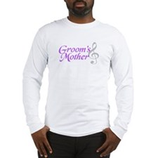 Groom's Mother(clef) Long Sleeve T-Shirt