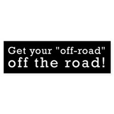 Off Road Bumper Bumper Sticker