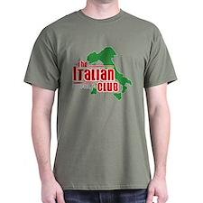 """shape of Italy"""" logo T-Shirt"""